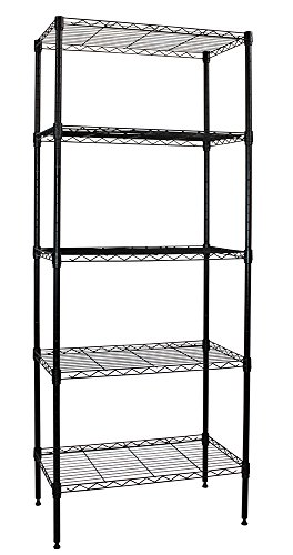 Apollo Hardware Black 5-Shelf Wire Shelving 14