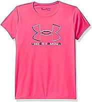 Under Armour Girls' Tech Big Logo Short Sleeve T-S