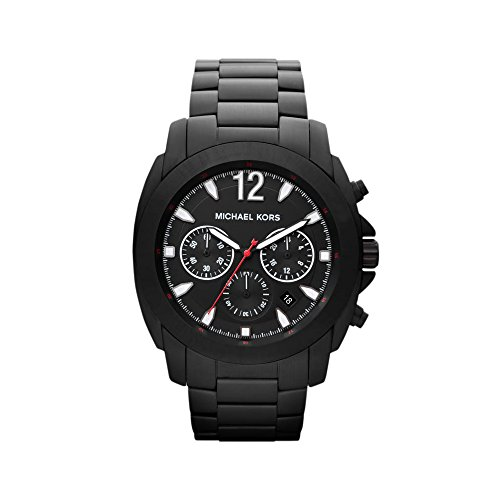 Michael Kors MK8282 Black Ion Plated Chronograph Watch Black Ion Chronograph Watch