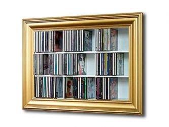 Dvd Wandregal cd dvd wandregal im bilder look amazon de küche haushalt