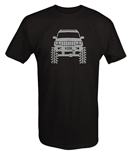 Stealth - Jeep Grand Cherokee WJ Lifted Offroad 4x4 T shirt - Xlarge ()