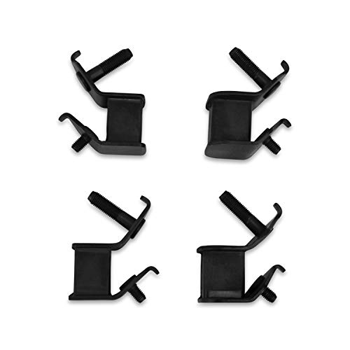 Everest Brand 4 Pack Anti Vibration Generator Rubber Isolation Motor MOUNTS Compatible with Honda, Predator & Many More!