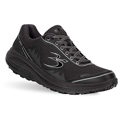 Gravity Defyer Pain Relief Men's G-Defy Mighty Walk Athletic Shoes 10 W US- Shoes for Plantar Fasciitis - Black