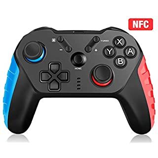 Wireless Controller for Nintendo Switch, Y Team Wireless Switch Pro Controller for Switch Lite, Remote Gamepad Joystick Support NFC/Turbo/Dual Shock/Gyro Axis[Newest Version]