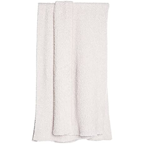 Barefoot Dreams Cozychic Heathered Throw Stone White