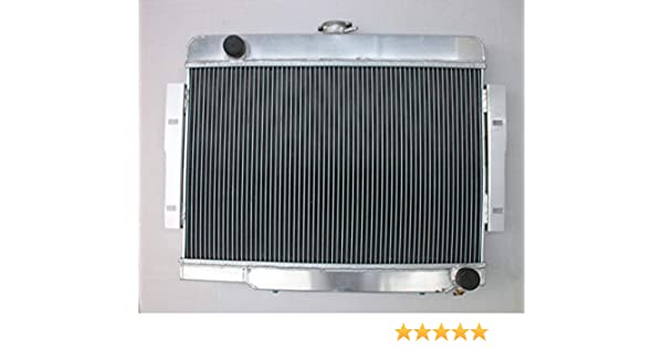 For 1972-1986 Jeep CJ,CJ5,CJ7 V8 3 Row Aluminum Radiator//Conversion Chevy-Engine