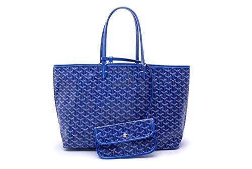 (Sardal Fashion Shopping Shoulder Tote Bag Set(Blue), Large)