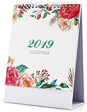 2019 Schreibtischkalender mit einem Monatsansicht, Wochenplaner, Tagesplaner, Wochenplaner, Mini-Memo-Kalender Größe S Canvas