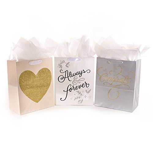 Hallmark Large Gift Bag with Tissue Paper (Mr. and Mrs.)