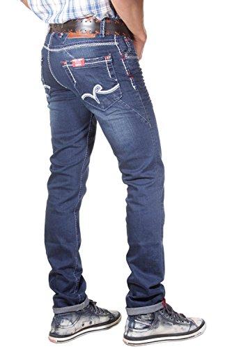 R-NEAL Jeans (stretch) slim fit (blau)