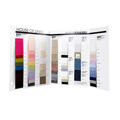 Robert Kaufman Kaufman Color Card House of Linen , Multi -