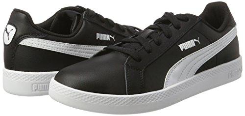Smash Negro Zapatillas black white Mujer Puma L Para Owq7xXBdBR