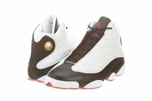 Nike Menns Air Jordan Retro 13 Hgg Han Fikk Spillet Hvit / Svart-ekte Rød Lær Basketball Sko Størrelse 10
