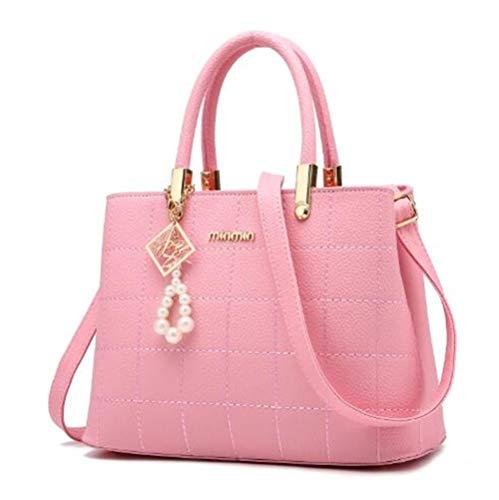 Y De Pink Simple Bolso Moderno Mano Negro qRBwOv6C