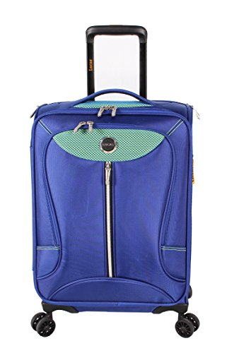 lucas-luggage-adrenaline-21-inch-carry-on-softside-expandable-spinner-suitcase-21in-navy