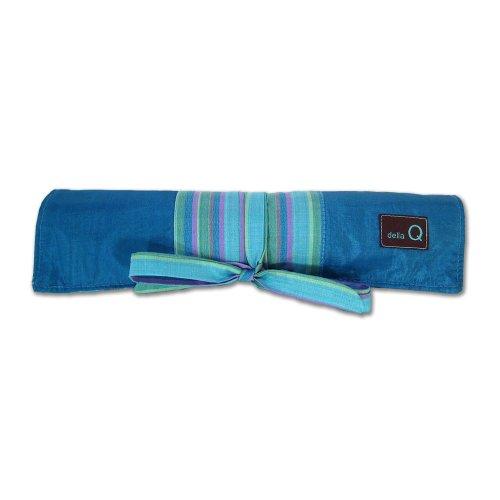 Della Q Knitting Roll For Double Point Knitting Needles  023 Ocean Stripes 158 1 023