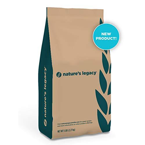 - Nature's Legacy Organic Whole Wheat Flour 5 lb bag