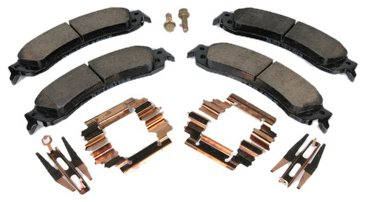 (ACDelco 171-659 GM Original Equipment Rear Disc Brake Pad Kit with Brake Pads, Clips, and Bolts )