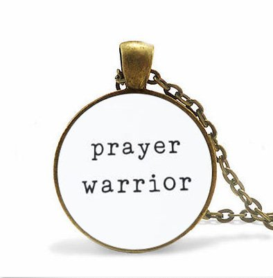 Worship Leader,Missionary Gift,Christian Necklace,Best Friend Necklace,Prayer Warrior Necklace, Pastor Gift,Women's Bible Study (Halloween Prayers For Teachers)