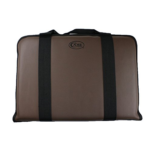 Case Medium Leather Carrying Case - Holds up to 44 Knives