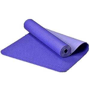 Goma Antideslizantes Yoga, Ejercicio, Estera De La Aptitud De Pilates,Violet