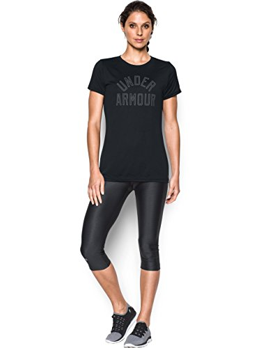 Under Armour Women's Tech Word Mark T-Shirt