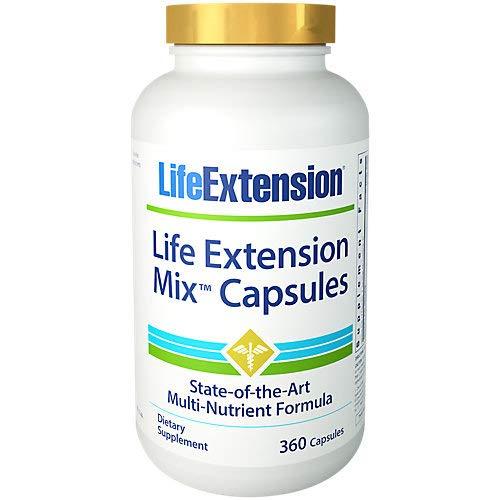 Life Extension Mix Capsules – 360 capsules