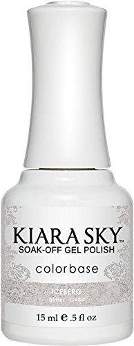 Kiara Sky Gel Polish, Iceberg, 15 Gram
