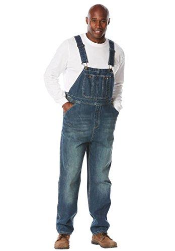 [해외]볼 더 크릭 남자의 큰 > 긴 데님 바지 / Boulder Creek Men`s Big & Tall Denim Overalls