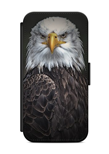 iPhone 7 Adler Eagle Flip Tasche Hülle Case Cover Schutz Handy