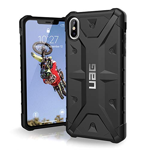 URBAN ARMOR GEAR UAG iPhone Xs Max [6.5-inch Screen] Pathfinder Feather-Light Rugged [Black] Military Drop Tested iPhone Case