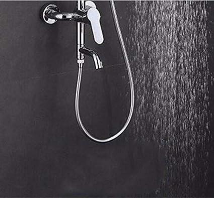 iFCOW Alcachofa de la ducha Cabezales de ducha de mano en aerosol de 300 orificios potentes que ahorran agua a alta presi/ón para el ba/ño Piel seca Cabello