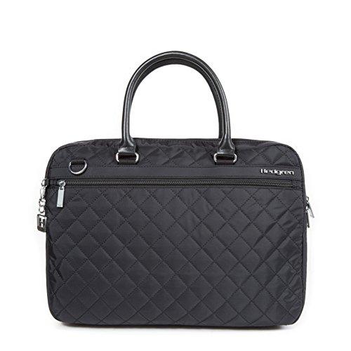 Hedgren Bella Attache Handbag, Business Tote Bag with Removable Shoulder Strap, 12'' x 15.5'', Medium, Womens, Black by Hedgren