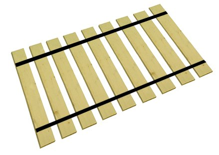 sports shoes 1da60 71fe8 The Furniture Cove King Size Custom Width Bed Slats-Choose Your Needed  Width To Help Support Your Box Spring And Mattress