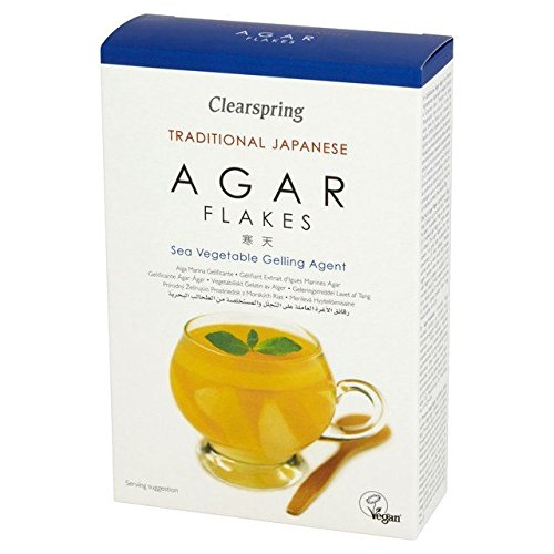Clearspring Agar Flakes 28g - Pack of 6