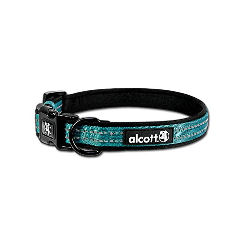 ture Pet Collar, Medium, Blue (Comfortable Dog Collars)