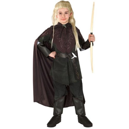 [Kids Legolas Costume - Child Medium] (Legolas Halloween Costume)