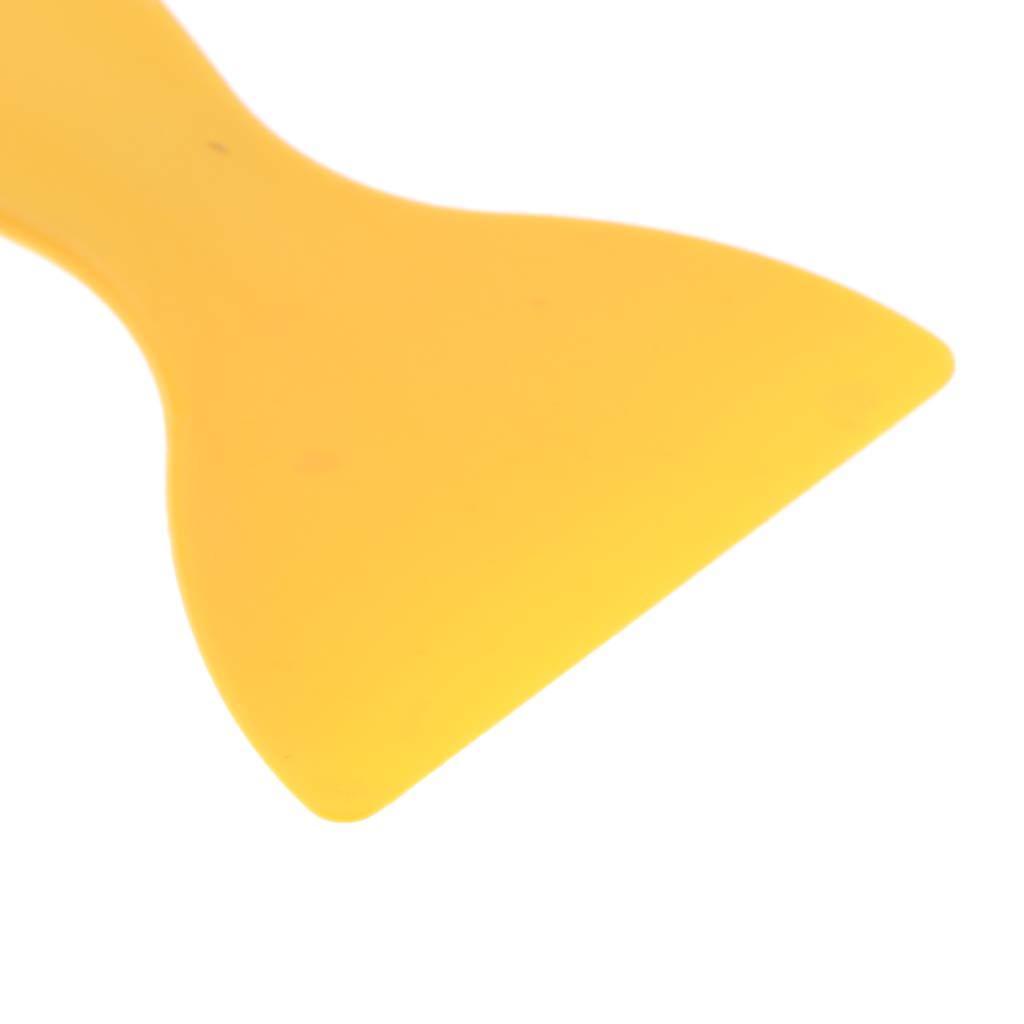 Homyl LCD Glue Remover Scraper for Phone Tablet PC Screen Display Repair Tool Yellow