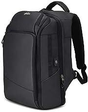 """Fresion® Stylish 15.6"""" Laptop Backpack Water-Resistant Large Rucksack, Traveling Backpacks - Tablet/eReader Pocket - USB Charging Port for Men and Women 26L"""