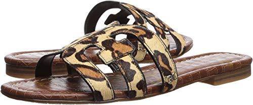 Sam Edelman Women's Bay Slide Sandal, New Nude Leopard, 8 M ()