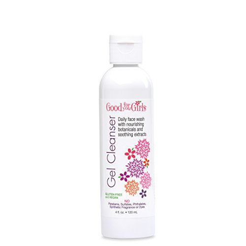 Good For You Girls Cleansing Gel with Healing Plant Extracts and Fruit Based Organic Oils, 4 oz by Good For You Girls