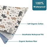 YIVEKO Baby Waterproof Bed Pad Washable Mattress