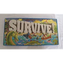 Survive! 1982 A Sea Full Of Danger And Oceans Of Fun! Board Game