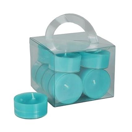 PAPSTAR Teelichter, Durchmesser: 38 mm, türkis