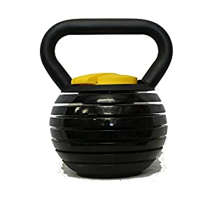 Kettlebell Kings Black Adjustable Kettlebell Weights & Kettlebell Set | Kettlebells For Women & Men, 10 40 Pounds Made For Home Use, Swings, Squats, Press