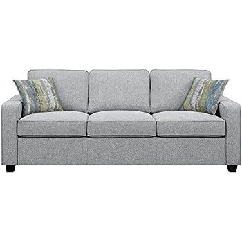 Amazon Com Scott Living Brownswood Fabric Stationary Sofa