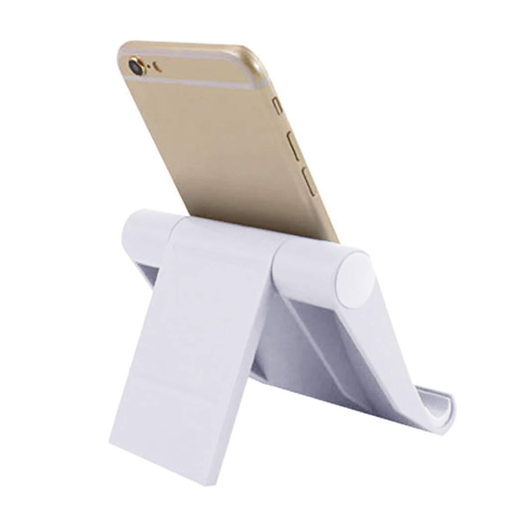 Dianli Foldable Phone Holder, 360° Universal Bed Desk Mount Cradle Holder Stand for Phone iPad Tablet