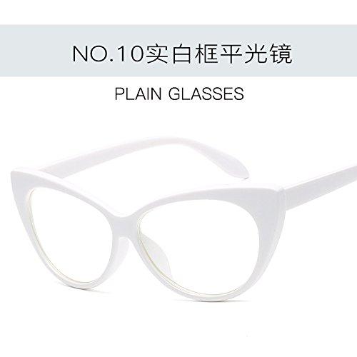 ZHANGYUSEN de de moda de sol gafas Gato Gafas Tonos Ojo gafas Vintage mujer Retro femenina de sexy C10 C4 UV400 rO6Cqrp
