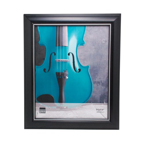 Kiera Grace Hunter Picture Wall Frame, 11 by 14-Inch, Black