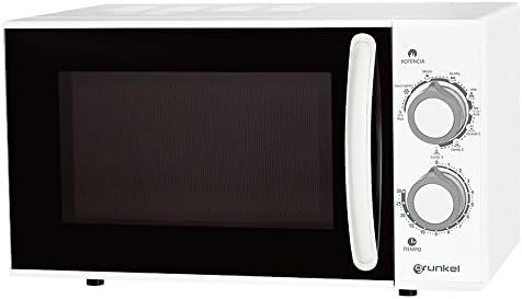 Grunkel- Microondas con grill blanco de 25L de capacidad y 900W. 5 ...